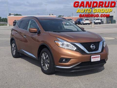 2017 Nissan Murano for sale at Gandrud Dodge in Green Bay WI