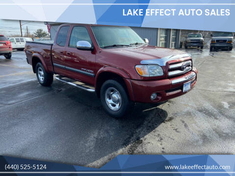 2006 Toyota Tundra for sale at Lake Effect Auto Sales in Chardon OH