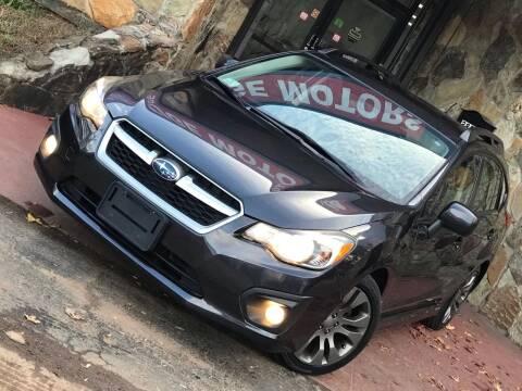 2013 Subaru Impreza for sale at Atlanta Prestige Motors in Decatur GA