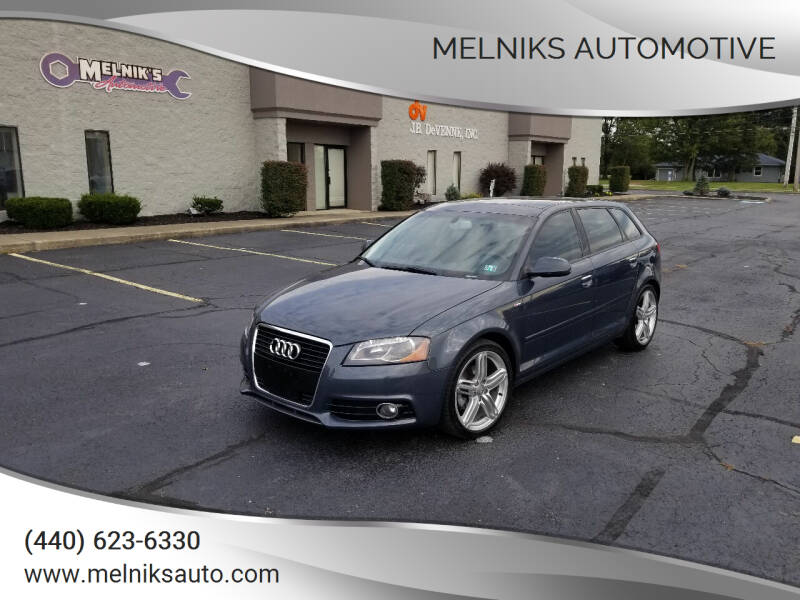2013 Audi A3 for sale at Melniks Automotive in Berea OH