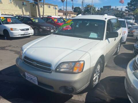 2001 Subaru Outback for sale at North County Auto in Oceanside CA