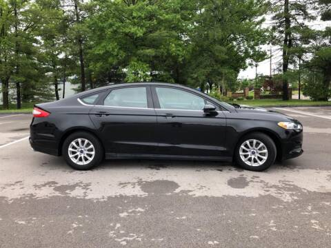 2015 Ford Fusion for sale at St. Louis Used Cars in Ellisville MO