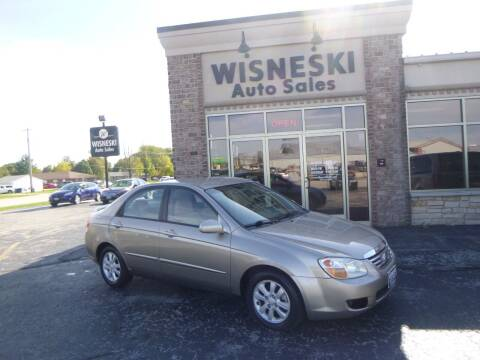 2007 Kia Spectra for sale at Wisneski Auto Sales, Inc. in Green Bay WI