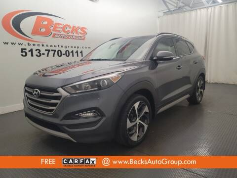 2018 Hyundai Tucson for sale at Becks Auto Group in Mason OH