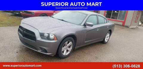 2011 Dodge Charger for sale at SUPERIOR AUTO MART in Amelia OH