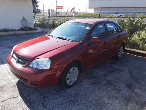 2008 Suzuki Forenza for sale at Easy Credit Auto Sales in Cocoa FL