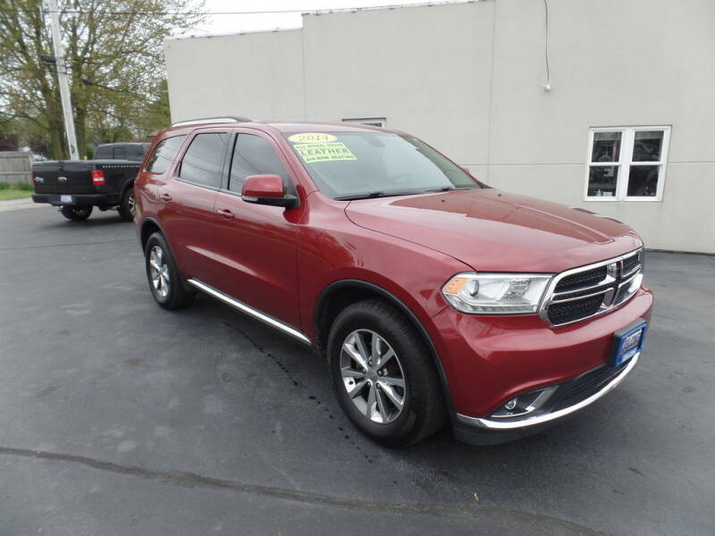 2014 Dodge Durango for sale at DeLong Auto Group in Tipton IN