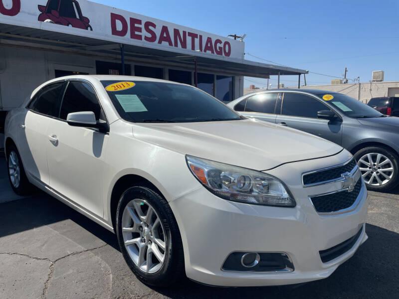 2013 Chevrolet Malibu for sale at DESANTIAGO AUTO SALES in Yuma AZ