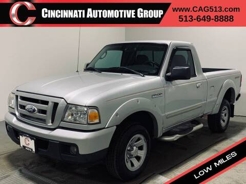 2006 Ford Ranger for sale at Cincinnati Automotive Group in Lebanon OH