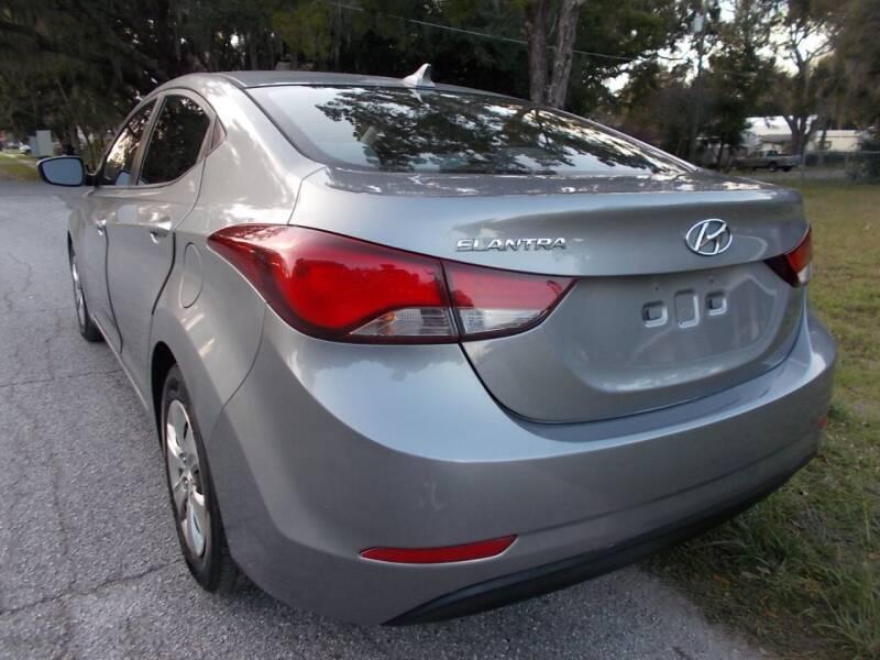 2016 Hyundai Elantra SE 4dr Sedan 6M - Fruitland Park FL