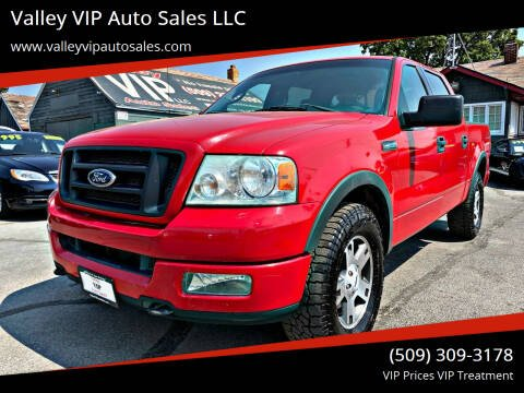 2004 Ford F-150 for sale at Valley VIP Auto Sales LLC in Spokane Valley WA