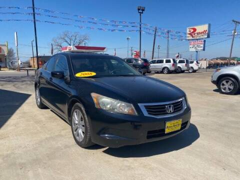 2008 Honda Accord for sale at Russell Smith Auto in Fort Worth TX