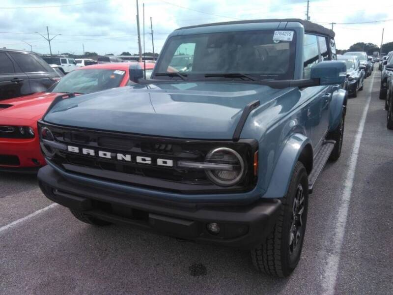 2021 Ford Bronco for sale at Classic Cars of Palm Beach in Jupiter FL