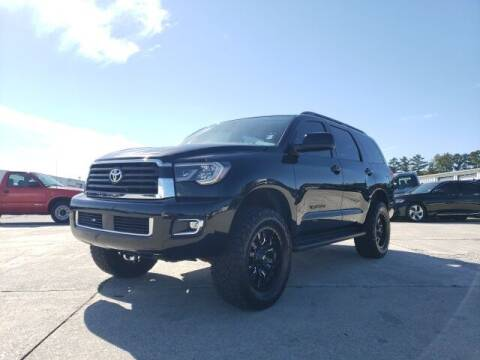 2018 Toyota Sequoia for sale at Hardy Auto Resales in Dallas GA