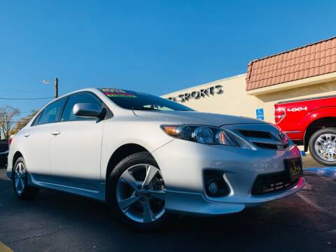 2013 Toyota Corolla for sale at Alpha AutoSports in Roseville CA