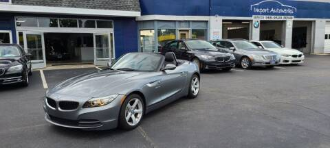2013 BMW Z4 for sale at Import Autowerks in Portsmouth VA