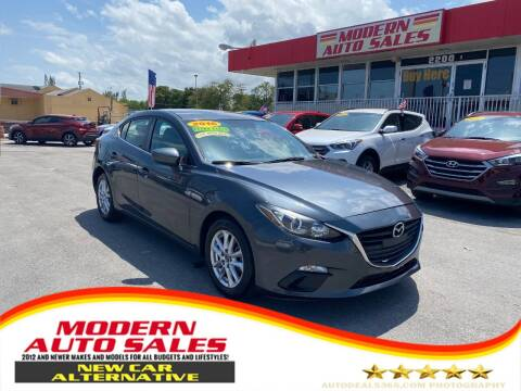 2016 Mazda MAZDA3 for sale at Modern Auto Sales in Hollywood FL