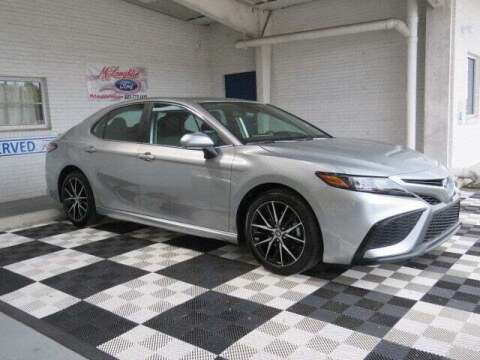 2021 Toyota Camry for sale at McLaughlin Ford in Sumter SC