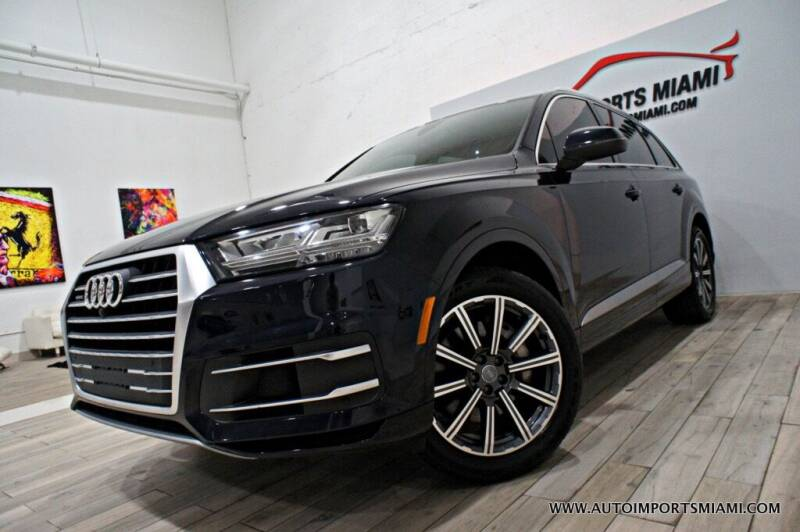 2017 Audi Q7 for sale at AUTO IMPORTS MIAMI in Fort Lauderdale FL