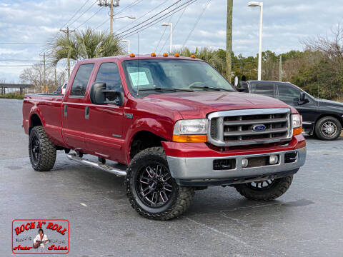2001 Ford F-250 Super Duty for sale at Rock 'n Roll Auto Sales in West Columbia SC