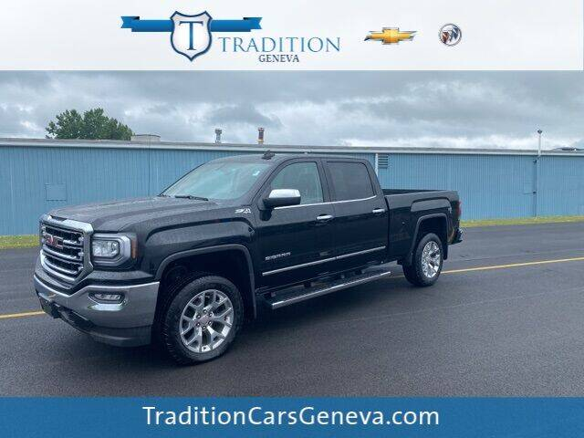 2017 GMC Sierra 1500 for sale at Tradition Chevrolet Buick in Geneva NY