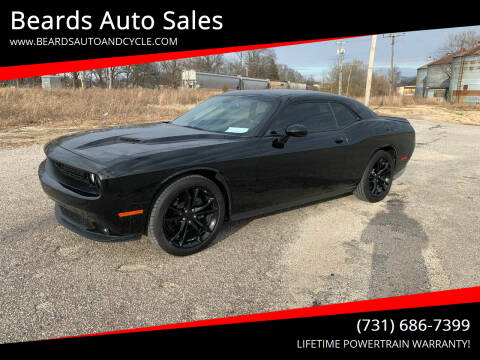 2016 Dodge Challenger for sale at Beards Auto Sales in Milan TN
