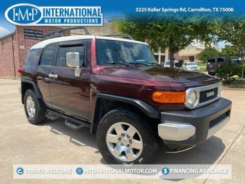 2007 Toyota FJ Cruiser for sale at International Motor Productions in Carrollton TX