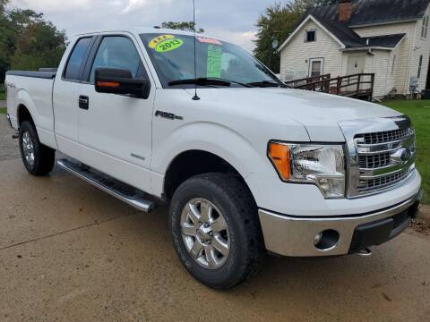 2013 Ford F-150 for sale at Kachar's Used Cars Inc in Monroe MI