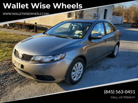 2010 Kia Forte for sale at Wallet Wise Wheels in Montgomery NY