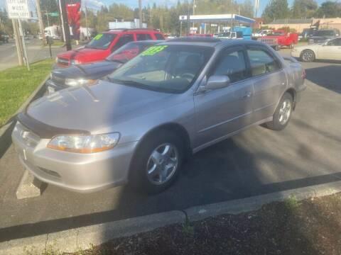 1999 Honda Accord for sale at MILLENNIUM MOTORS INC in Monroe WA