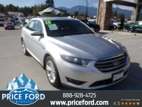 2015 Ford Taurus for sale at Price Ford Lincoln in Port Angeles WA