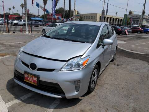 2014 Toyota Prius for sale at Best Deal Auto Sales in Stockton CA
