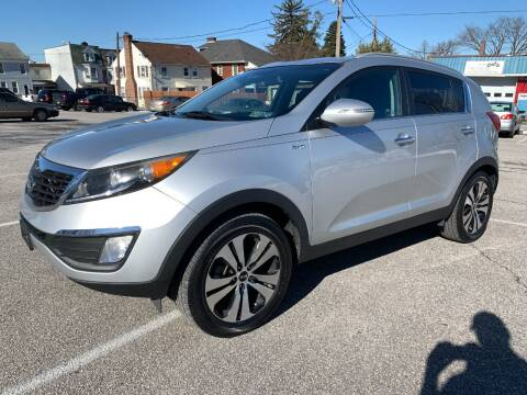 2013 Kia Sportage for sale at On The Circuit Cars & Trucks in York PA
