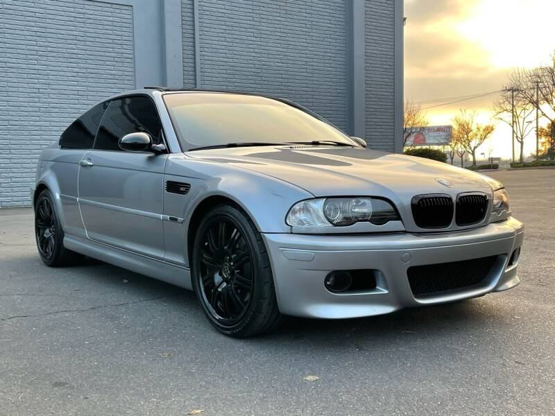 2005 BMW M3 for sale at COUNTY AUTO SALES in Rocklin CA