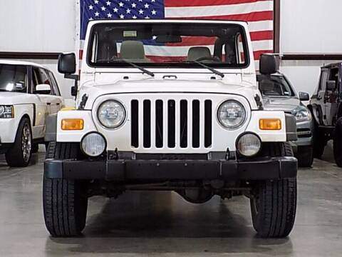 2006 Jeep Wrangler for sale at Texas Motor Sport in Houston TX