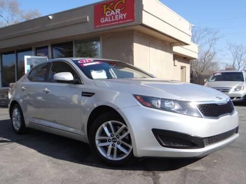 2011 Kia Optima for sale at KC Car Gallery in Kansas City KS