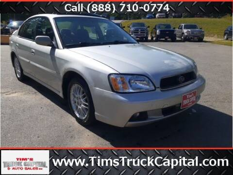 2003 Subaru Legacy for sale at TTC AUTO OUTLET/TIM'S TRUCK CAPITAL & AUTO SALES INC ANNEX in Epsom NH