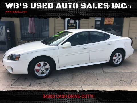 2007 Pontiac Grand Prix for sale at WB'S USED AUTO SALES INC in Houston TX