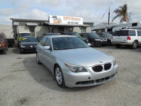 2007 BMW 5 Series for sale at DMC Motors of Florida in Orlando FL