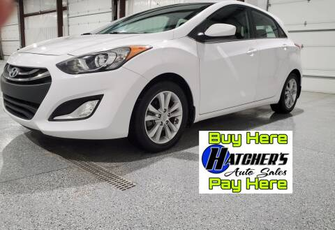 2013 Hyundai Elantra GT for sale at Hatcher's Auto Sales, LLC in Campbellsville KY