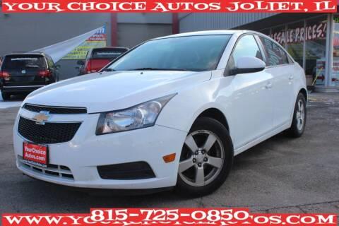 2014 Chevrolet Cruze for sale at Your Choice Autos - Joliet in Joliet IL