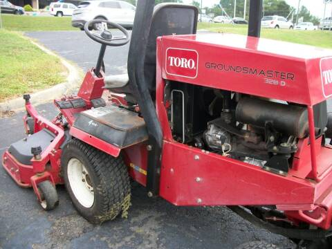 Toro Industrial Lawnmower for sale at Lentz's Auto Sales in Albemarle NC