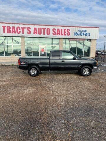 2004 Chevrolet Silverado 1500 for sale at Tracy's Auto Sales in Waco TX