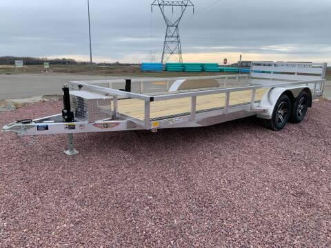 2021 H&H TRSA-18 82x18 #5591 for sale at Prairie Wind Trailers, LLC in Harrisburg SD