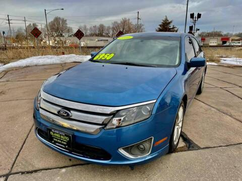 2010 Ford Fusion for sale at Island Auto Express in Grand Island NE