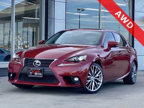 2015 Lexus IS 250 for sale at Carmel Motors in Indianapolis IN