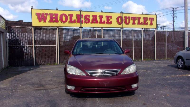 2006 Toyota Camry for sale at LONG BROTHERS CAR COMPANY in Cleveland OH