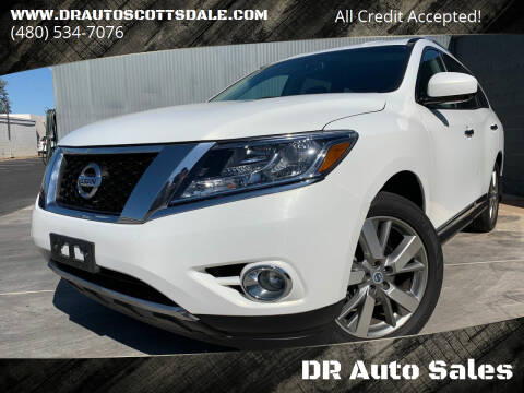 2013 Nissan Pathfinder for sale at DR Auto Sales in Scottsdale AZ