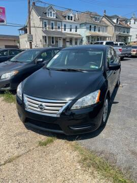 2014 Nissan Sentra for sale at Butler Auto in Easton PA