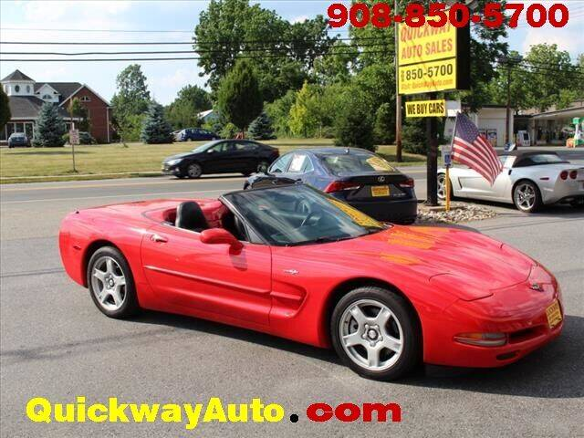 1999 Chevrolet Corvette for sale at Quickway Auto Sales in Hackettstown NJ